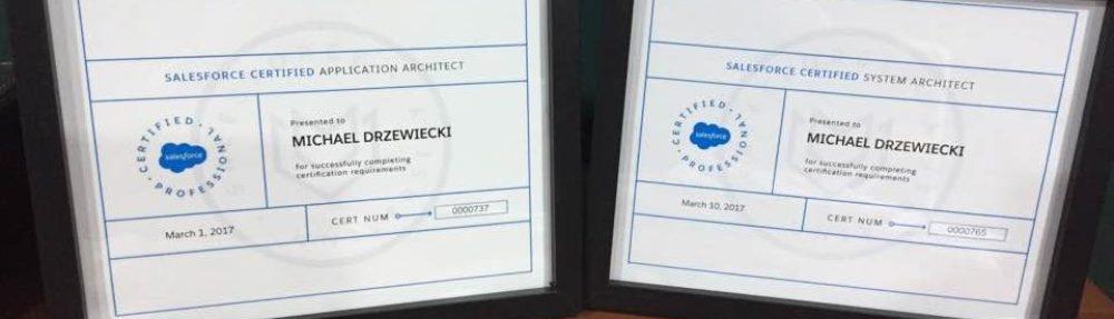 Certifications Michael Drzewiecki